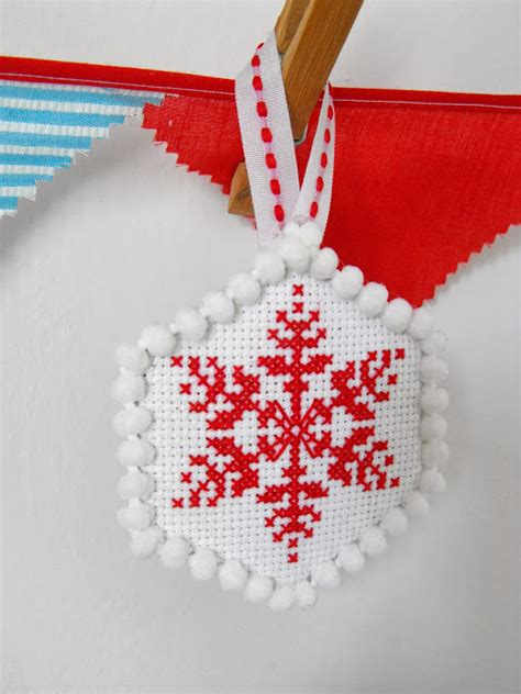 ruby murrays musings cross stitch christmas tree ornaments
