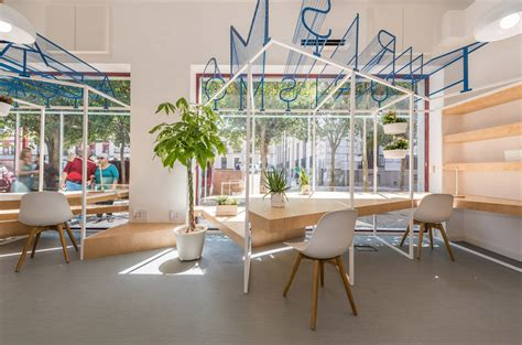 Tourism Office by A Modern Tourist Office In Spain Featuring Cool Graphic