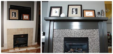 simple fireplace remodel ideas thats my house