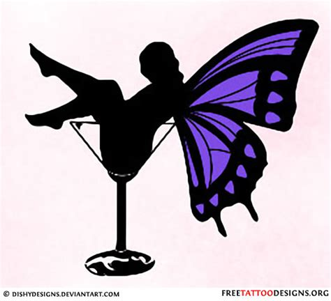 fairy silhouette tattoo designs gallery