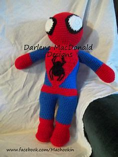 knitting pattern spiderman toy free spiderman knitting pattern knitting pinterest