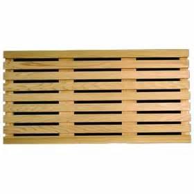 door mat plain cedar wood door mat