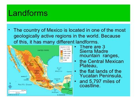 resource map of mexico mexico s resources