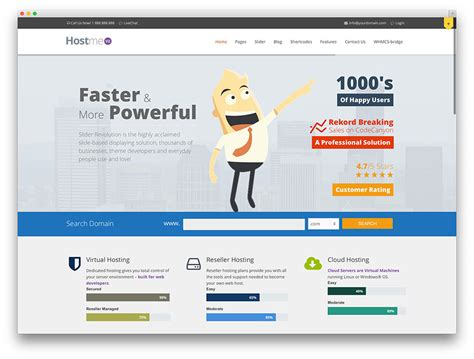 themes wordpress hosting hosting template whmcs psd