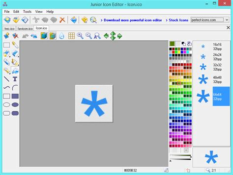 junior icon editor software   ceate  edit