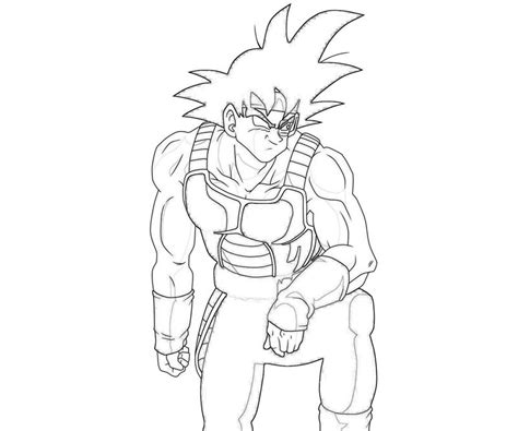 dragon ball z coloring pages bardock bardock bardock smirk jozztweet