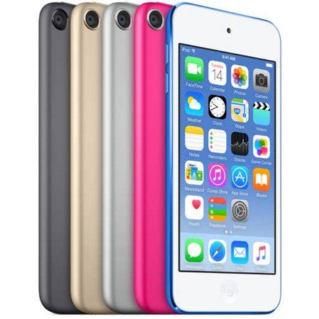 ipod touch 6 colors apple ipod touch 64gb 6th generation model