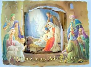 lot of 10 nativity jesus birth 3d catholic pop up greeting card ebay