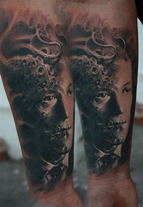 lovecraft tattoo 17 best images about h p lovecraft tattoos on