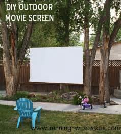 running with scissors diy outdoor screen