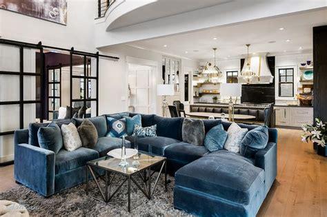 blue velvet sectional sofa blue velvet sectional with blue chaise lounge