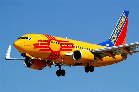 southwest airlines new mexico one boeing 737 7h4 n781wn new mexico land of enchantment