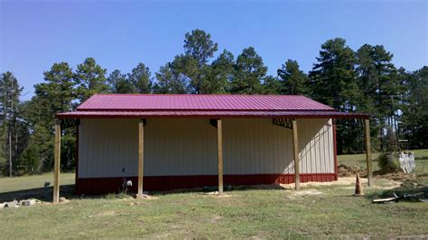 need metal 30 x 40 enclosed pole barn with lean to 7 240 00