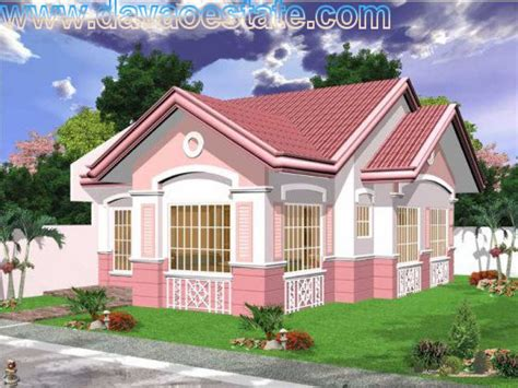 bungalow type house plan house models plans philippines bungalow type
