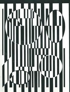 Noir Et Blanc 2 Vasarely La Classe De Touy 233 Y 233