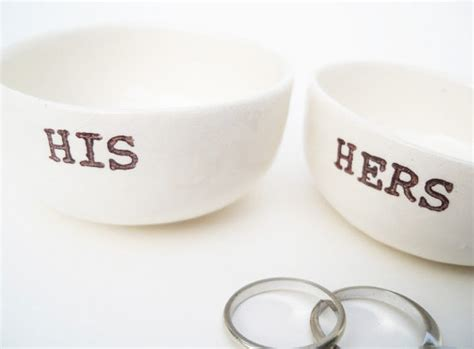 Handmade Hers - handmade his hers gift bridal shower gift wedding gift for