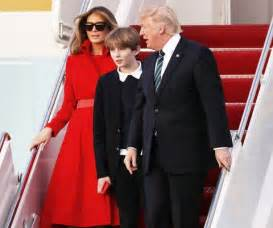 Oval Office Tour barron trump makes rare white house visit us weekly