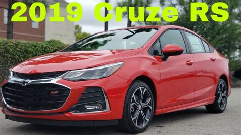 chevrolet cruze rs youtube