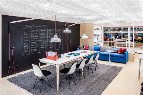 Desk With Storage Space Behind The Scenes With Herman Miller And Geiger At Neocon