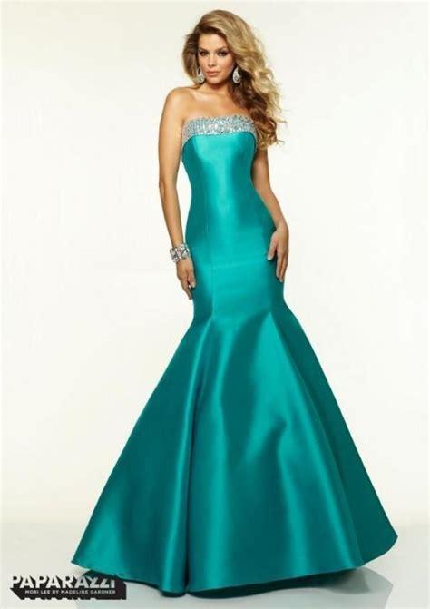 cheap beaded prom dresses 2015 mermaid evening dresses strapless beaded