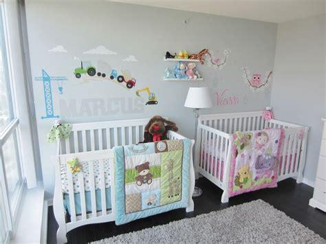 twin baby bedroom twins nursery boy girl ideas pinterest