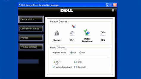 mobile broadband connect dell wifi mobile broadband connection manager