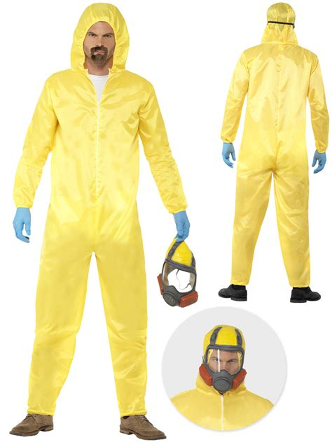 White Gas Mask Ultraviolet Costume by Mens Breaking Bad Costume Gas Mask Walter White Hazmat