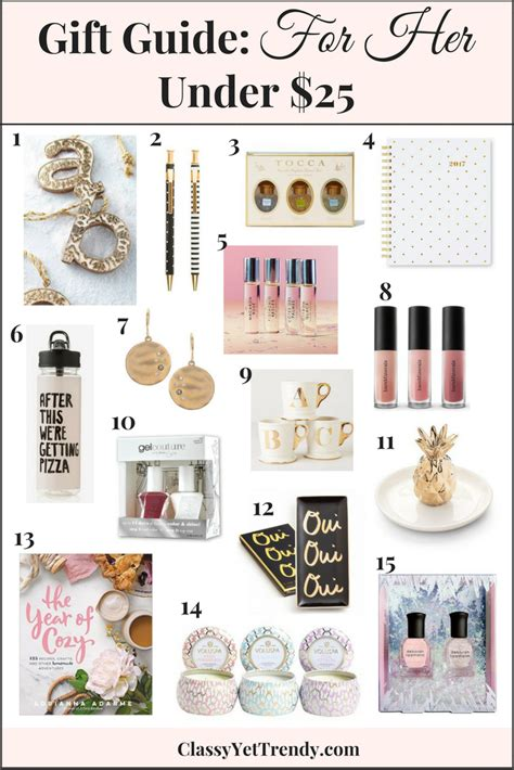 trendy gifts for her 2016 gift guide for her under 25 classy yet trendy