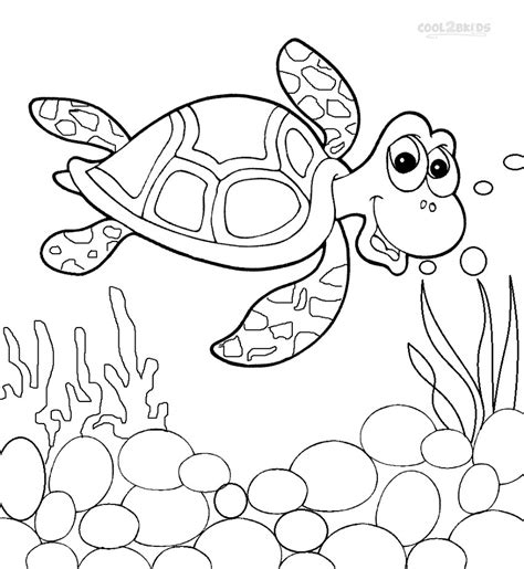 turtle coloring page sea turtle coloring page