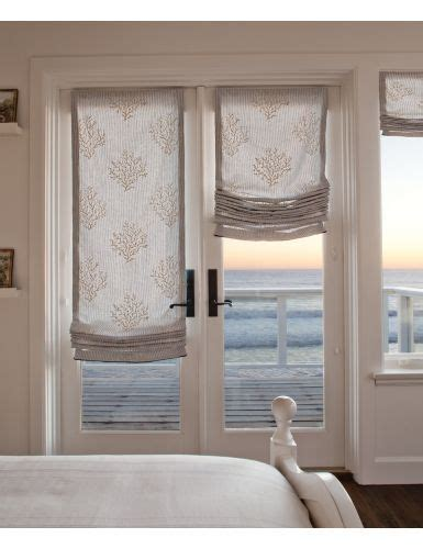 Rideaux Chambre Bebe 938 by Our New Sophisticated Shore Collection Fabric Shades