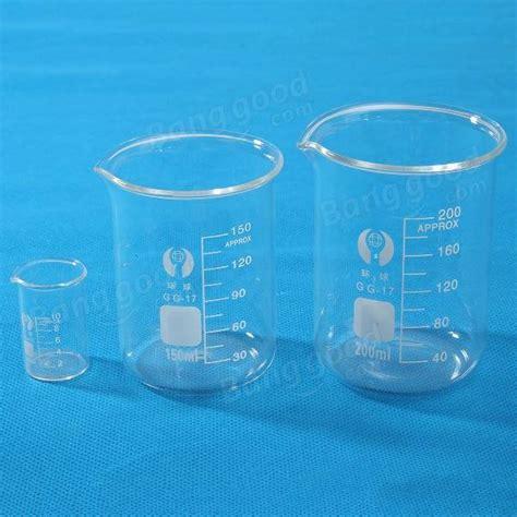 Beaker Glass 10 Ml 10ml 150ml 200ml glass lab beaker low form chemical