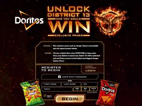 Instant Win Promotions - doritos unlock district 13 instant win promotion