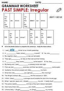 regular and irregular verbs worksheet abitlikethis