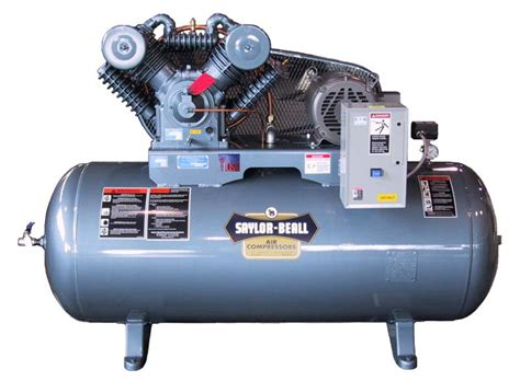 saylor beall 92012 stage 20 hp 120 gal three phase with magnetic starter low