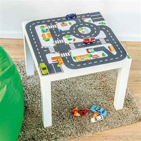 Klebefolie Kinderzimmer Junge by M 246 Belfolie Quot Kleine Stadt Quot F 252 R Ikea Lack Beistelltisch