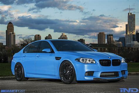 Bmw M5 Blue by Yas Marina Blue Bmw F10 M5 By Ind Gtspirit