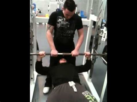 negative bench press shane bench press focusing on negative reps youtube