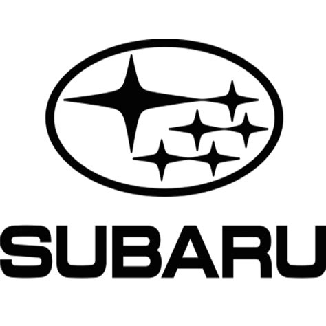 subaru emblem black subaru logo vector subaru genuine remanufactured parts