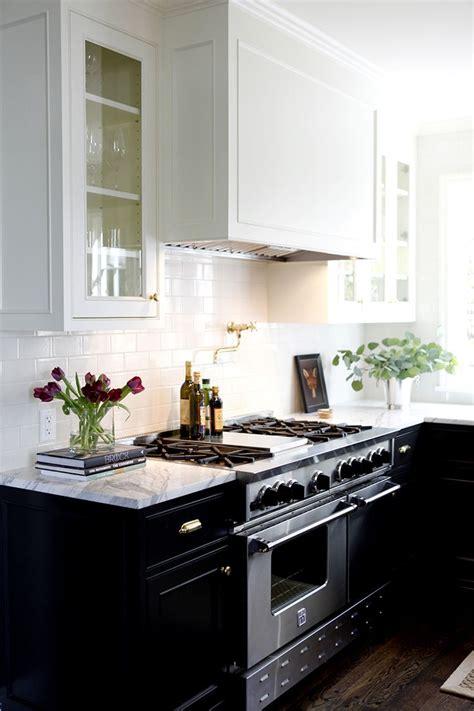 Kitchen Cabinets White Top Black Bottom Kitchen Cabinets White Top Black Bottom Manicinthecity