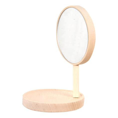 regal aus buchenholz regal und spiegel aus buchenholz inga semp 233 natur moustache