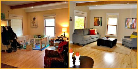 staging photos before and after staging photos by seattle staged to sell