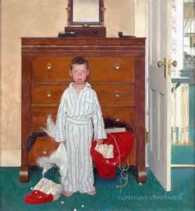 Lezley davidson norman rockwell merry christmas