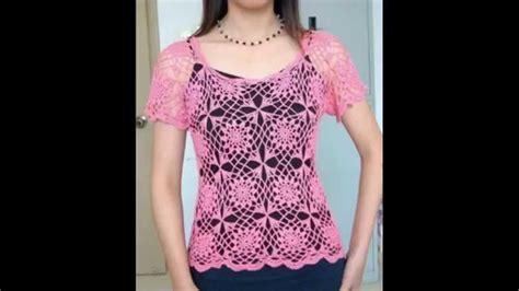 videos de como hacer blusas tejidas a crochet blusas para verano tejidas a crochet 2 176 video youtube