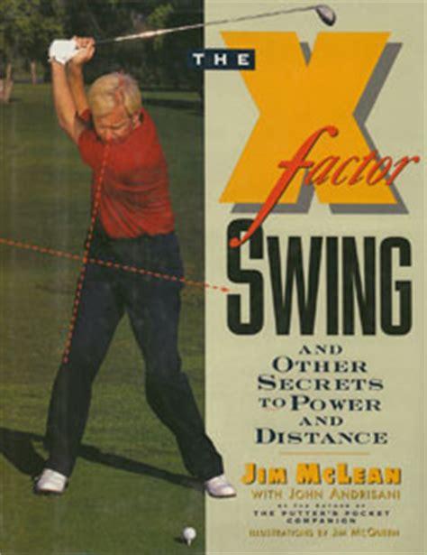 john jacobs golf swing jim mcleans triple x factor a