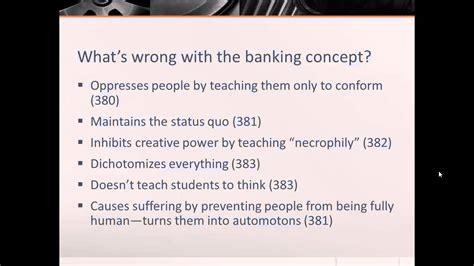 Freire Banking Concept Essay paulo freire the banking concept of education www pixshark images galleries with a bite