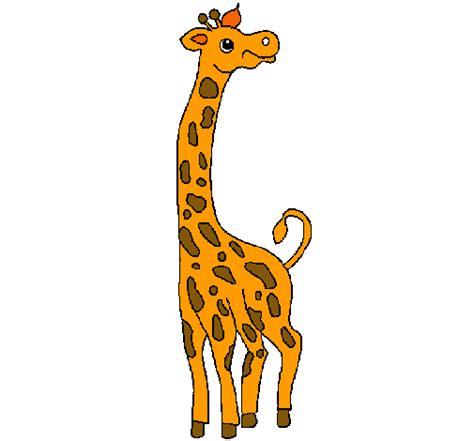 Imagenes De Jirafas En Ingles | dibujo de jirafa pintado por jirafa en dibujos net el d 237 a