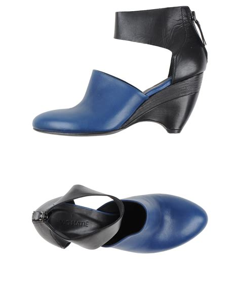 Sandal Heels Vic 637 lyst vic mati 233 sandals in blue
