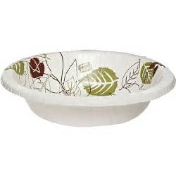 Paper Bowls - dixie pathways heavyweight paper bowls 20oz 125 pack
