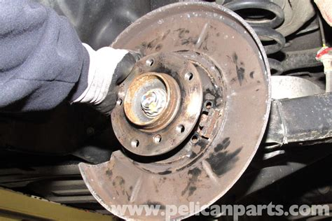 bmw parking l replacement bmw e46 parking brake shoe backing plate replacement bmw