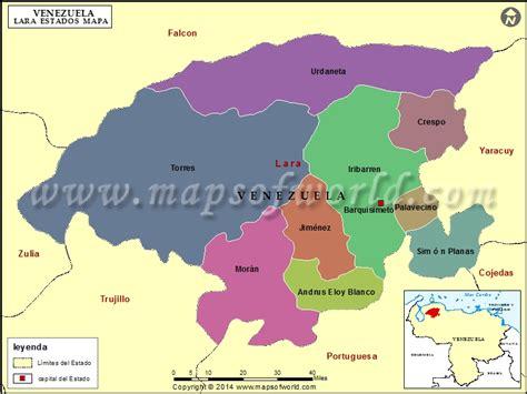 imagenes del estado lara venezuela mapa del estado lara estado lara venezuela